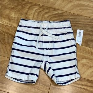 Old Navy striped baby shorts